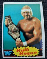 1985 Topps Hulk Hogan #16 EX+ PSA WWF Rookie