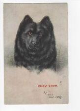 Chow Chow Vintage Dog Postcard Maud West Watson 1928