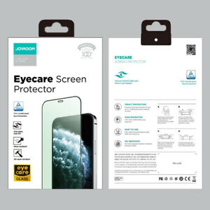 Anti Blue Light Green Eyecare Full Screen Protector For iPhone 12 13 Pro Max