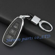 Silver Key Chain Suit Cover For Ford Focus Escape Fiesta Ecosport Accessories
