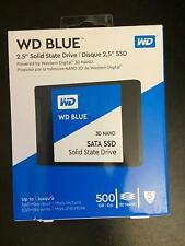 """WD 500GB Blue 3D NAND SATA III 2.5"""" Internal SSD"""