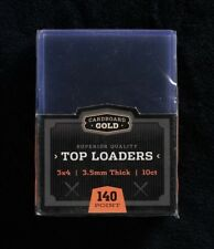 Case of 500 CBG 3.5mm 140pt Thick Trading Card Topload Holders hard protectors