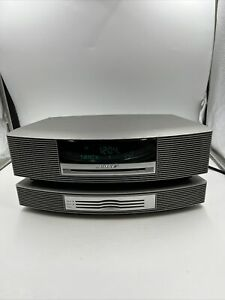 BOSE Wave Music System III with 3-Disc CD Changer AM/FM AUX No Remote TITANIUM