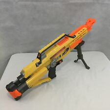 Nerf N-Strike Stampede ECS Automatic Dart Gun Clip Bipod Stand Yellow Orange