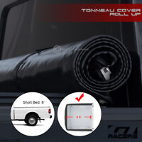 For 1983-2011 Ranger/1994+ Mazda B-Series 6' Bed Lock & Roll Soft Tonneau Cover