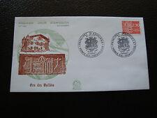 ANDORRE (francais) - enveloppe 1er jour 7/4/1990 (blason) (cy63) andorra (A)
