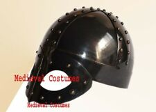 Medieval Viking Mask Knight Deluxe Helmet-Replica For Man FREE Liner&Chin Strap