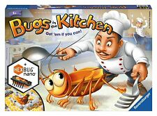 BNIB Ravensburger BUGS IN THE KITCHEN game with HEXBUG!