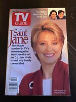 Vintage 1994 December 10-16 TV Guide - Jane Pauley of Dateline on Cover