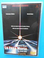 dvd's la zona morta the dead zone stephen king's david cronenberg martin sheen f