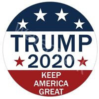 "Donald Trump 2020 Pinback Button Pin 2.25"" President Campaign Keep America Great"