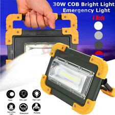 90000lm COB LED Work Light Rechargeable Inspection Flashlight Flood Lamp stand