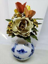 The Royal Dutch Bouquet Igor Carl Faberge 1980 enamel metal flower vase