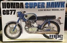 Honda Super Hawk CB77 MPC 1/18 Scale Plastic Model Kit