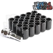 20 x Tuner Wheel nuts Black 12x1.25 fits Nissan 200sx 180sx S14 S15