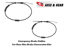 1991-1995 Jeep Wrangler YJ G2 E-Brake Cables for Rear Disc Brake Conversion Kit