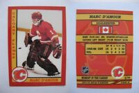 2015 SCA Marc D'Amour Calgary Flames goalie never issued produced #d/10 rare