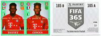 "RARE !! Sticker ALPHONSO DAVIES ""FIFA 365 2019-2020"" Panini ROOKIE"