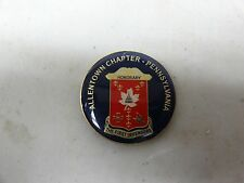 CHALLENGE COIN FIRST DEFENDERS ALLENTOWN CHAPTER PENNSYLVANIA HONORARY MEMBER