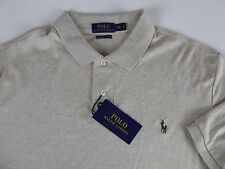 Polo Ralph Lauren SS Soft Touch Pima Cotton Polo Shirt w/ Multi Pony NWT $85-$98