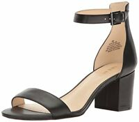 Nine West Womens Fields Leather Dress Sandal- Select SZ/Color.