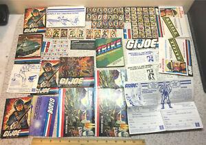 1983 HASBRO GI JOE DRAGONFLY INSTRUCTIONS VALUE POINTS BROCHURES CATALOGS & MORE