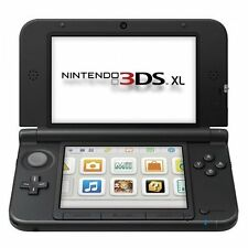 Nintendo 3DS XL Blue/black Console With Memory Card Very Good Portable System 9Z