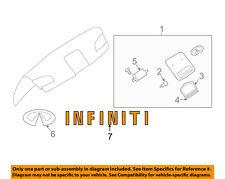 Infiniti NISSAN OEM 2003 G35 Trunk Lid-Emblem Badge Nameplate 84890AM601