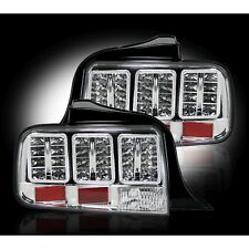 RECON 264187CL 05-09 Ford Mustang Clear Tail Lights LED