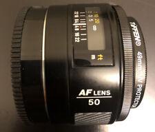 Minolta AF 50mm f/1.4(22) Prime/Fixed Lens