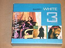 BOITIER 3 CD / BARRY WHITE / TRES BON ETAT