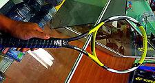 New Vintage YONEX RDS 001 MP 98 Later PJ Tennis Racquet 4-1/2 + Spare grommet