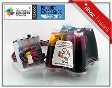 RIHAC CISS for Epson Printer Workforce WF-2650 WF-2750 Ink Cartridge 220 220XL