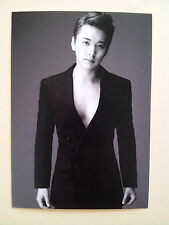 Super Junior SM town week Official Goods Postcard Post Card  - Sungmin / New