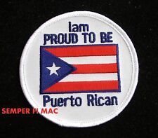 Puerto Rican Pride Hat Patch Puerto Rico American Us Flag Pin Up Usa 51st State