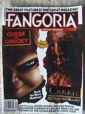 FANGORIA MAGAZINE # 327 SEPT 2013 CURSE OF CHUCKY CARRIE LIVING DEAD III