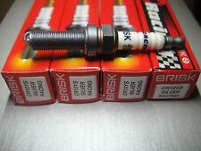 4X BRISK Spark Plug BMW S1000RR 2009-2010 LMAR9E J SILMAR9A9S LMAR9EJ R0465B-10