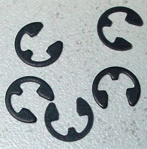 """Imperial E-Clip Retainers - Pack of 10 (To Fit 5/8"""" Shaft)"""