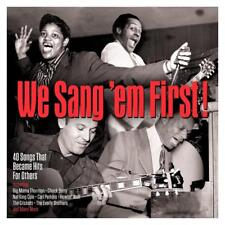 WE SANG'EM FIRST! 40 SONGS THAT BECOME HITS - VARIOUS ARTISTS (NEW SEALED 2CD)