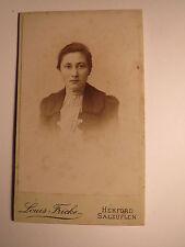 Herford Salzuflen - Frau - Portrait / CDV