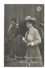 Postcard Alice Joyce Actress printed signature unposted   (A30)
