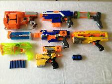 NERF Gun Guns Sammlung Konvolut + Munition Darts Hasbro Spielzeug Pistolen