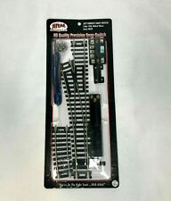 Atlas Left Remote Snap Switch HO Scale Code 100 Nickel Silver #850 New Sealed