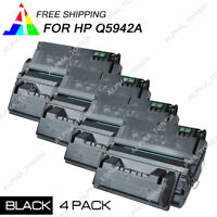 4PK Q5942A 42A Toner Cartridge For HP LaserJet 4250n 4350tn 4250dtn 4250tn 4350n