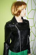 Adidas Originals Ladies Wmns Faux Leather Biker Jacket Gr.34 Motorcycle Jacket