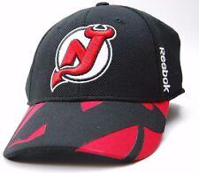 New Jersey Devils Reebok M563Z NHL Center Ice Structured Hockey Cap Hat  L/XL