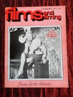 FILMS AND FILMING- UK MOVIE MAGAZINE- OCT 1971 - JOSEPH LOSEY - KLUTE