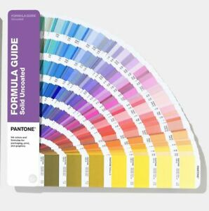 New Pantone Formula Color Guid Solid Uncoated Book GP1601A - 2020