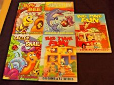 New Mixed Lot Of 5 Coloring ~ Activity Books Girl/Boys Kids Classic Children Fun