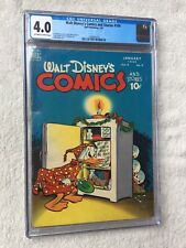 Walt Disney's Comics and Stories #100 Sept 1946 CGC 4.0 Off-White to White pgs